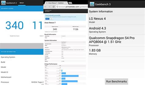 geek bench 3 geekbench 3 is live in the play store measures real world