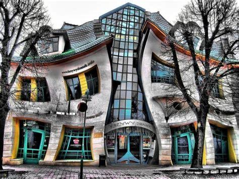 Home Construction Design Katowice The Crooked House A Sopot Polonia Casa