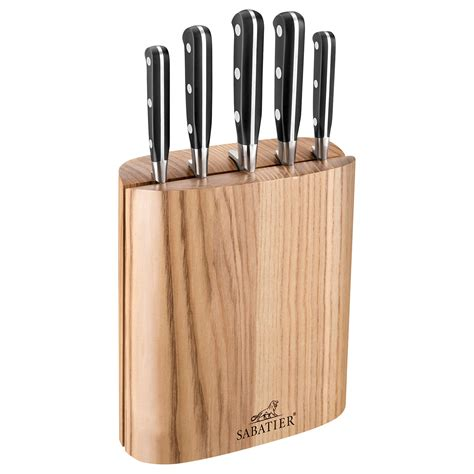 lewis kitchen knives sabatier filled knife block 5 at lewis