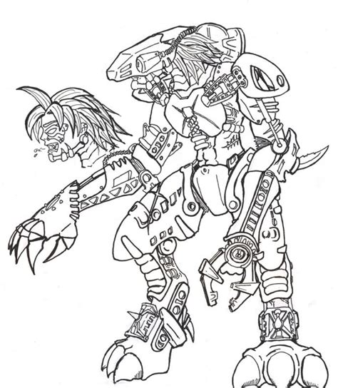 Free Coloring Pages Of Lewa Bionicle Bionicle Coloring Pages