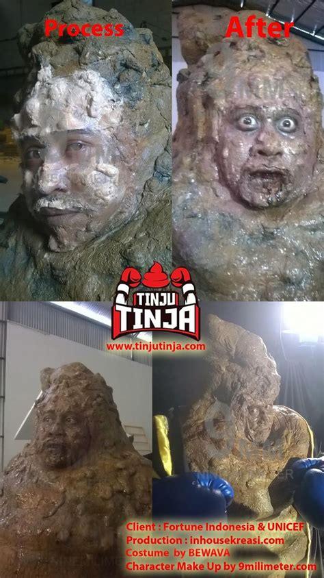 film up karakter tinju tinja make up karakter indonesia sfx makeup