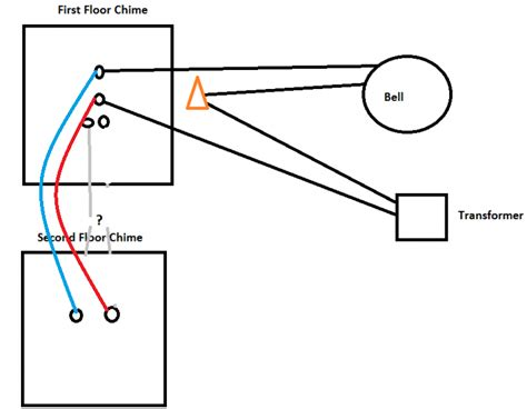 doorbell wiring diagram two chimes wiring diagram schemes