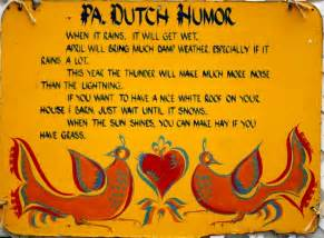 Folkways amp traditions pa dutch humor visit pa dutch country