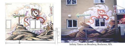 infinity tattoo in rochester mn infinity tattoos mural n broadway rochester mn