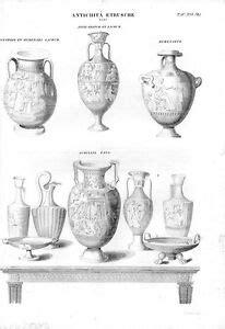 vasi etruschi prezzi sta antica vasi etruschi diverse forme con soggetti