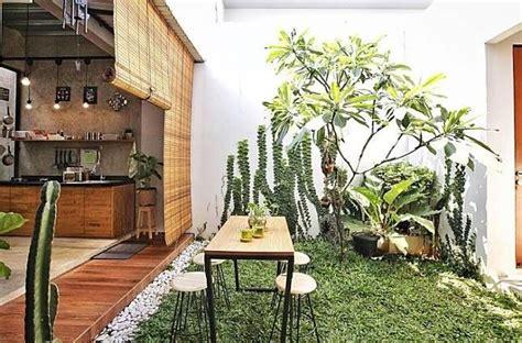 dapur  taman alami  bikin pemiliknya semakin