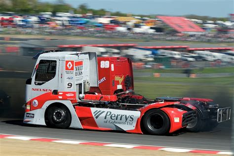 truck racing uk truck racing chionship brands hatch 13th