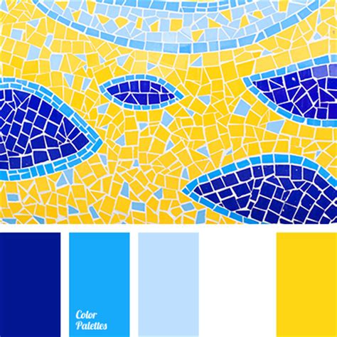 blue and yellow color scheme white and blue color palette ideas