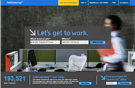 jobgateway pa register new job jobgateway pa new registration newhairstylesformen2014 com