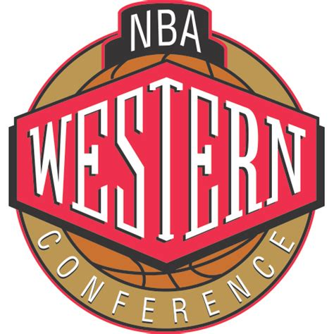Mba Westeren Conference by Nba Western Conference Logo Iron On Sticker Heat Transfer