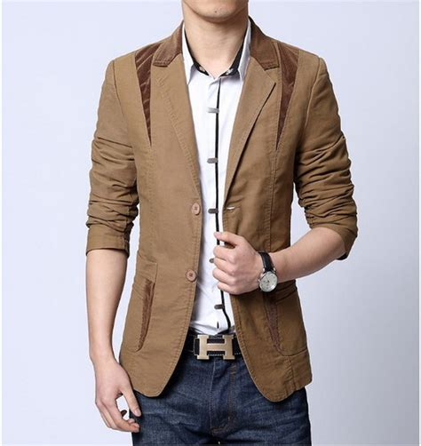 Blazer Jas New Brown Style casual suits for styles dress yy