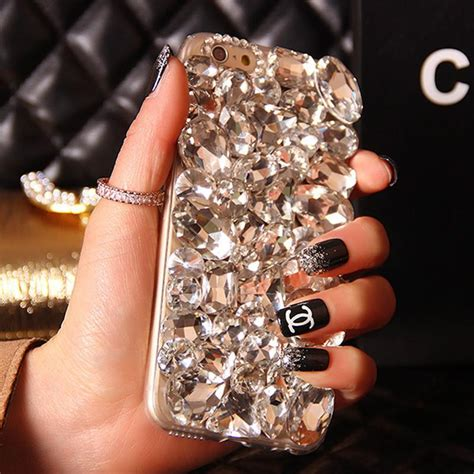 Blingcase Studed For Iphone bling rhinestone phone cover for iphone 6 plus 5s 5c 4s samsung galaxy note
