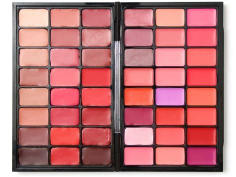 Lipstik Make Palette diy lip palette untuk mengorganisir dan mendaur ulang