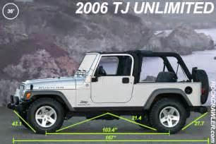 rockcrawler jeep wrangler dimensions