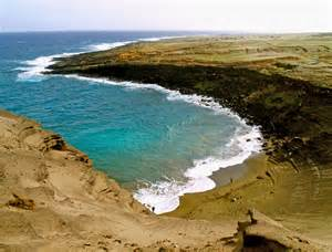 colored sand beaches green sand black sand white sand gray sand and piebald