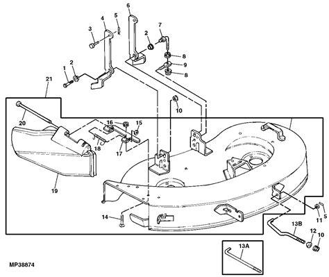 stx38 parts diagram deere 38 mower deck parts diagram free engine