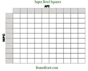 Printable 2015 super bowl squares new calendar template site