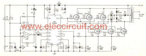 300 Watt Lifier Circuit Diagram by 300w Inverter Wiring Diagram Simple 220v 12v Dc Ac