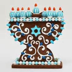 hanukkah gingerbread house kit hanukkah gingerbread house from stella pastry hanukkah oh chanukah pinterest