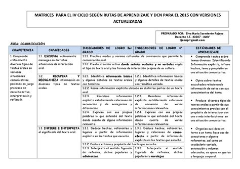 dcn 2016 peru minedu dcn 2016 en pdf minedu dcn 2015 nivel secundaria matrices