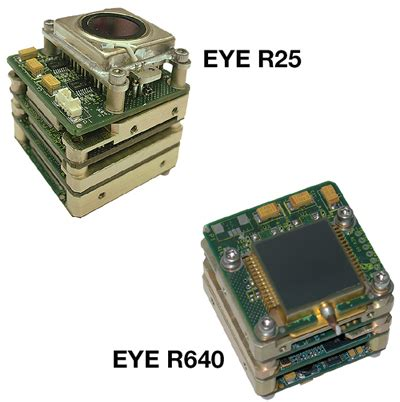 miniature uncooled infrared camera cores designed for