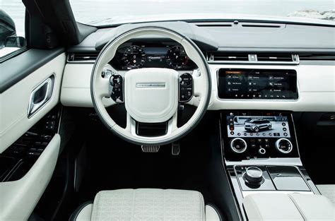 range rover velar dashboard range rover velar uk 2017 review autocar