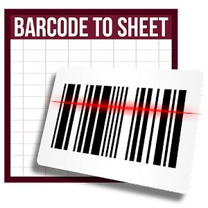 barcode  sheet android apps  google play