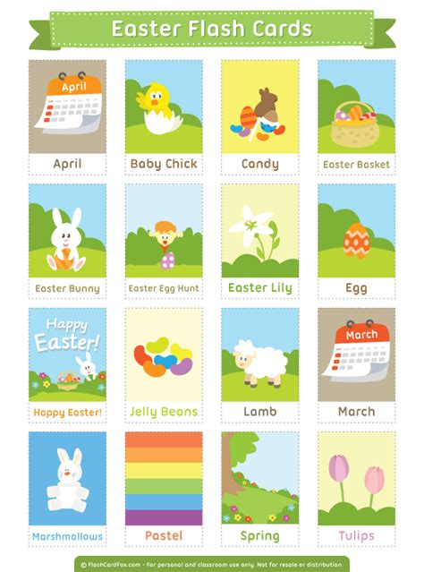 printable flash cards pdf free printable easter flash cards download them in pdf
