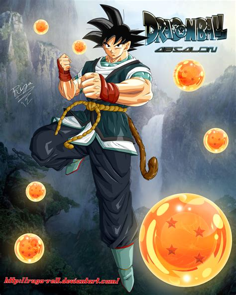 wallpaper dragon ball absalon goku from dragonball absalon by ruga rell on deviantart