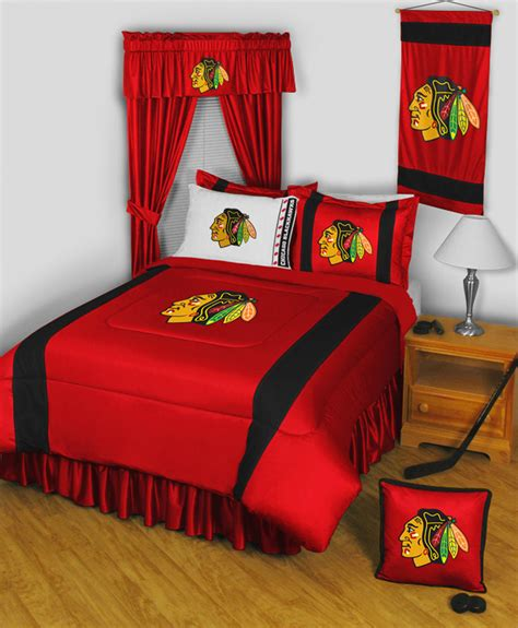 bed linens chicago chicago blackhawks nhl sidelines collection by sports