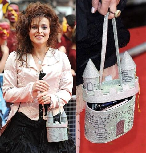 Helena Bonham Carries Intestine Bag At Harry Potter by Top 8 Weirdest Bags Of All Time