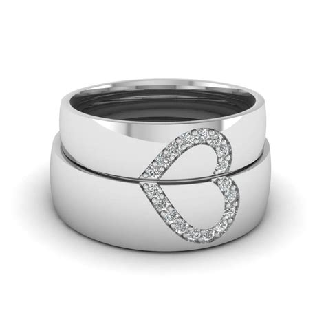 2018 popular white gold wedding bands