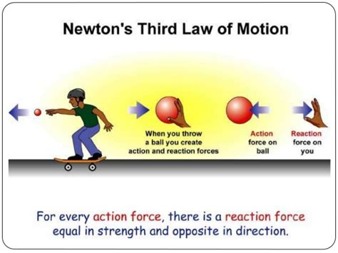 a cartoon guide to physics newtons second law of motion science