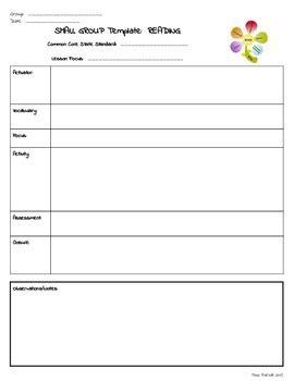 rti lesson plan template small rti special education lesson plan