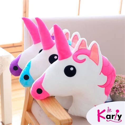 almohadas de unicornio coj 237 n almohada unicornio s 38 00 en mercado libre