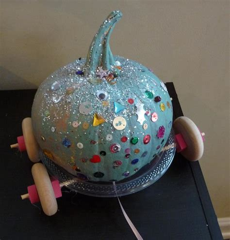 cinderella crafts for how to paint a pumpkin like cinderellas carriage ehow