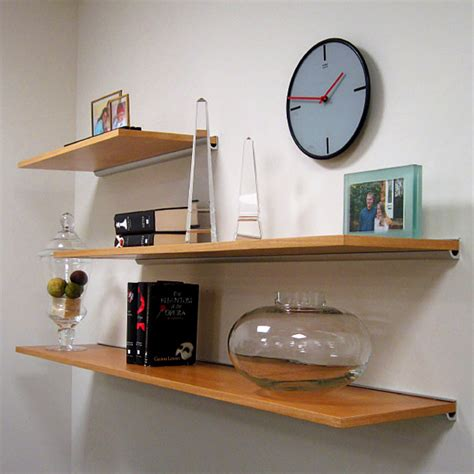 Suspended Shelf by Wood Shelves And Fixed Floating Shelves Rakks Shelving