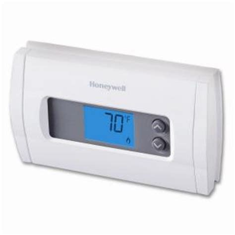 Thermostat Home Depot by Honeywell Digital Non Programmable Thermostat Discontinued Rth1100b The Home Depot