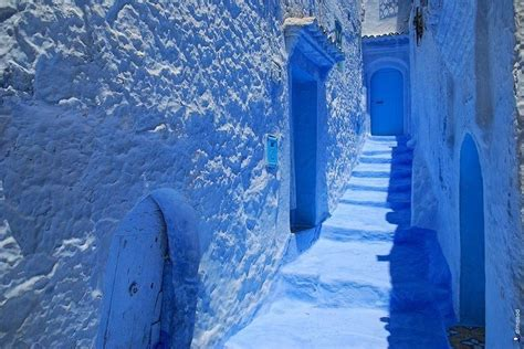 morocco blue city the blue city chefchaouen morocco