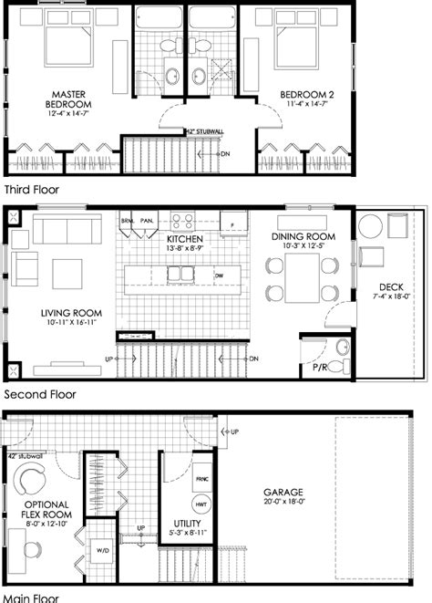 Tamarack Floor Plans the tamarack is the 4th of 5 floor plans at bluestem