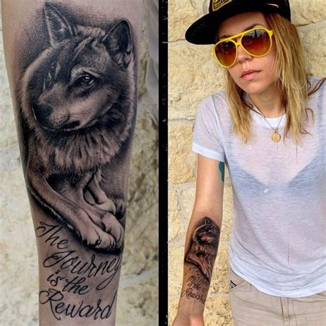 skylar grey tattoo skylar grey with wolf voice of an and
