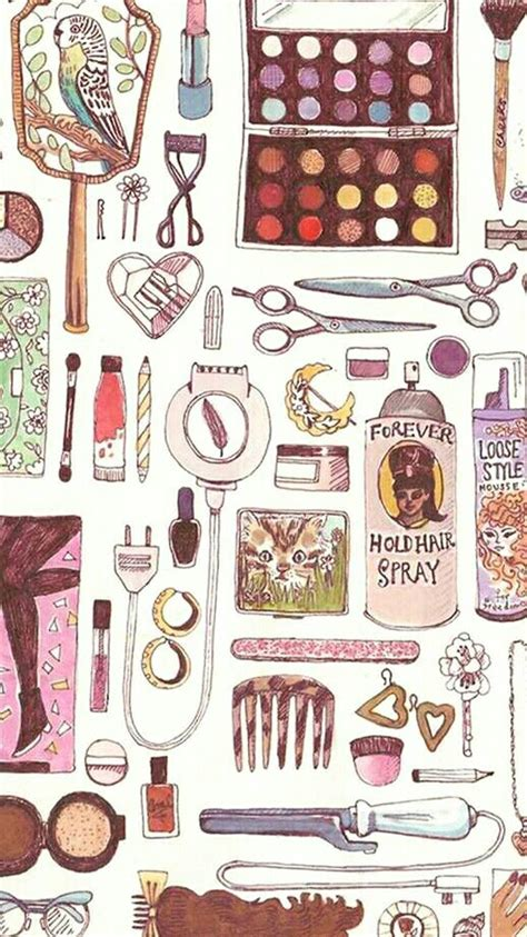 imagenes vintage maquillaje fondo de pantalla maquillaje fondos pinterest fondos