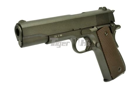 Kwc 26rd Extended Co2 kwc metal m1911a1 co2 gbb pistol black airsoft tiger111hk area
