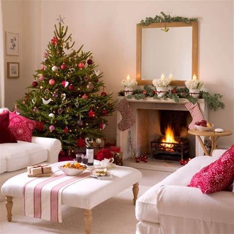 country home christmas decorating ideas home interior design christmas living room decorating ideas