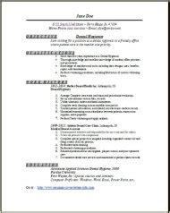 Dental Hygienist Resume Template by Dental Hygienist Resume Exles Sles Free Edit With Word