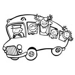 19 dessins de coloriage transport scolaire 224 imprimer
