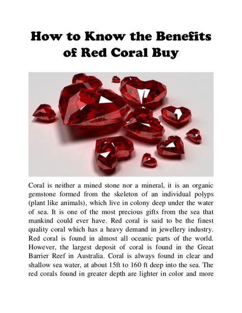 how to the benefits of coral buy