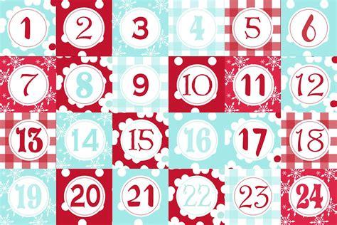 Advent Calendar Templates Advent Calendar Template