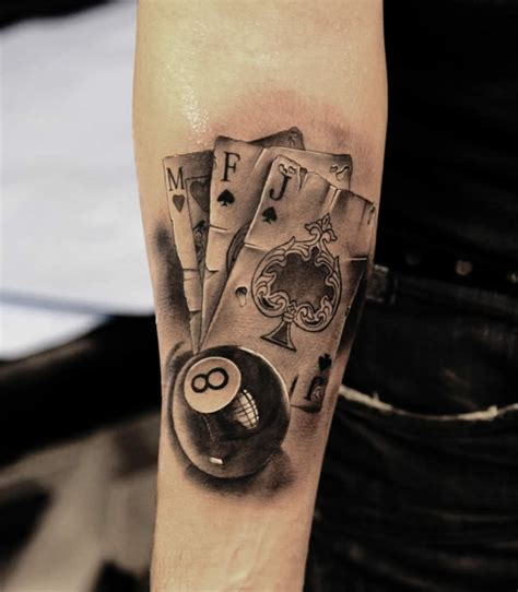 black ball tattoo 12 eight designs and ideas