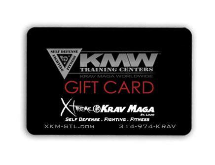 Fitness Gift Cards - xtreme krav maga fitness gift card